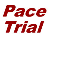 a box saying Pace Trial